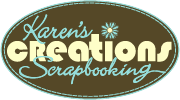 Karen's Creations Scrapbooking Website Logo