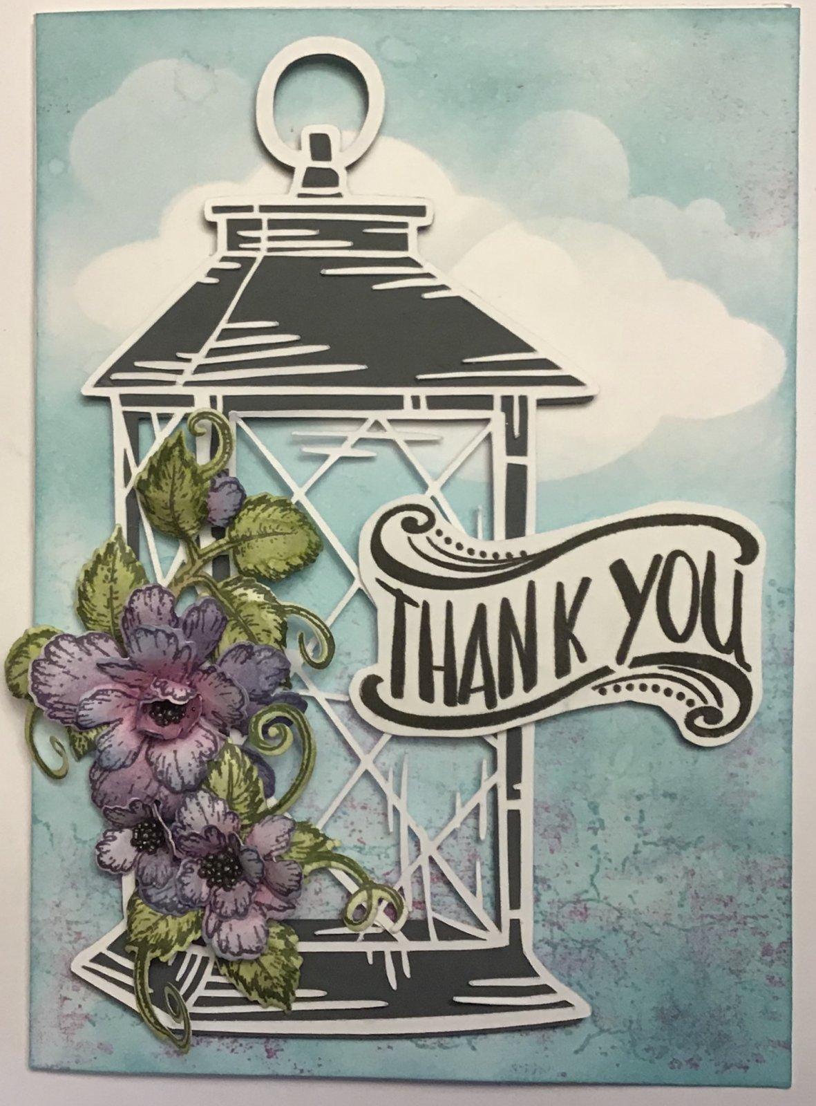 Lantern Thank You Card