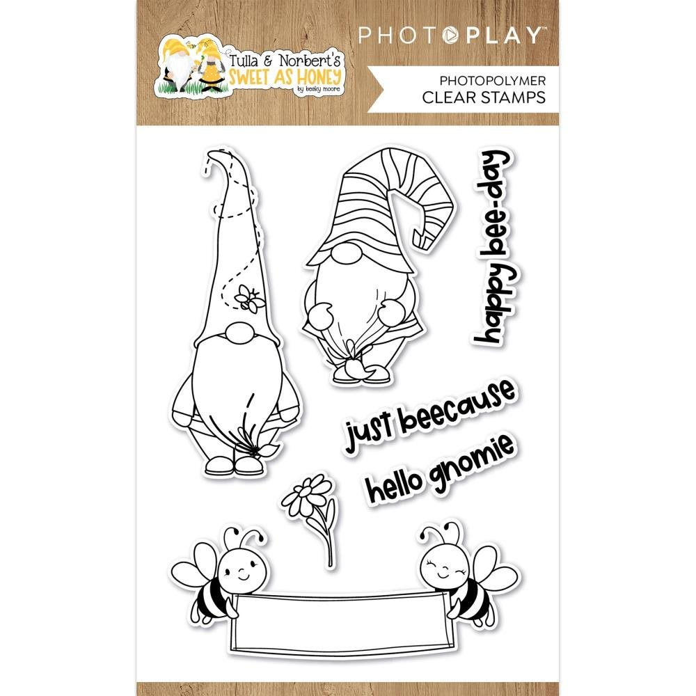 PhotoPlay Photopolymer Stamp-Sweet As Honey