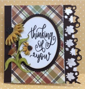 Thinking of you card kit made by Karen's Creations