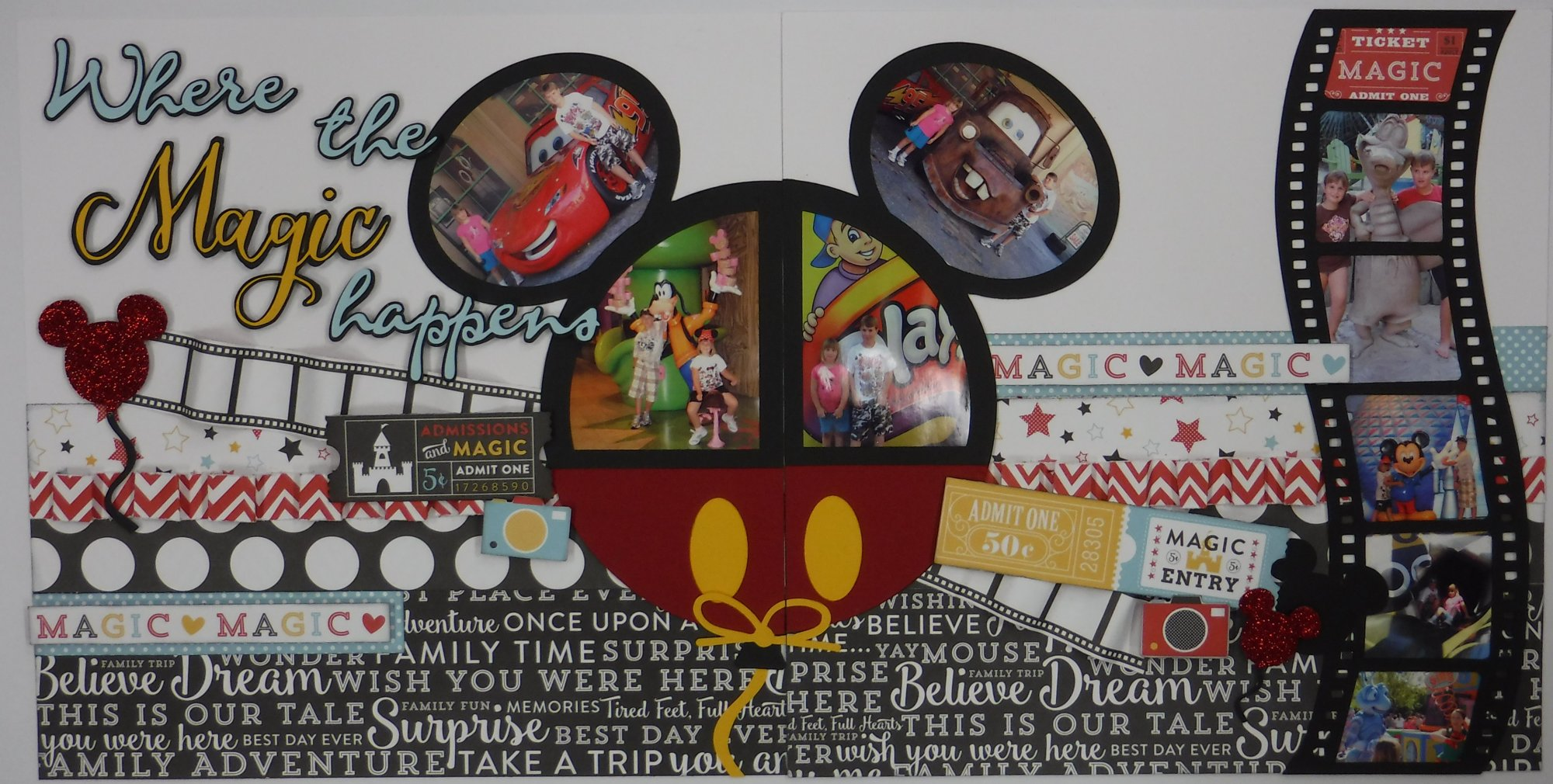 Where the Magic Happens Disney layout
