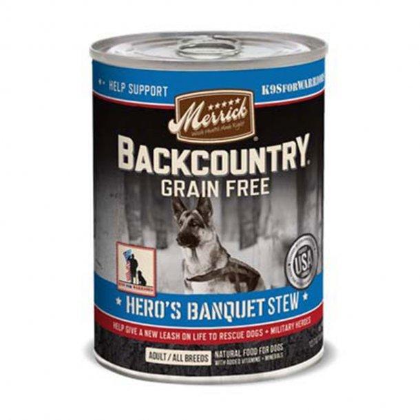 Merrick Back Country Hero's Banquet Stew-12.7 oz
