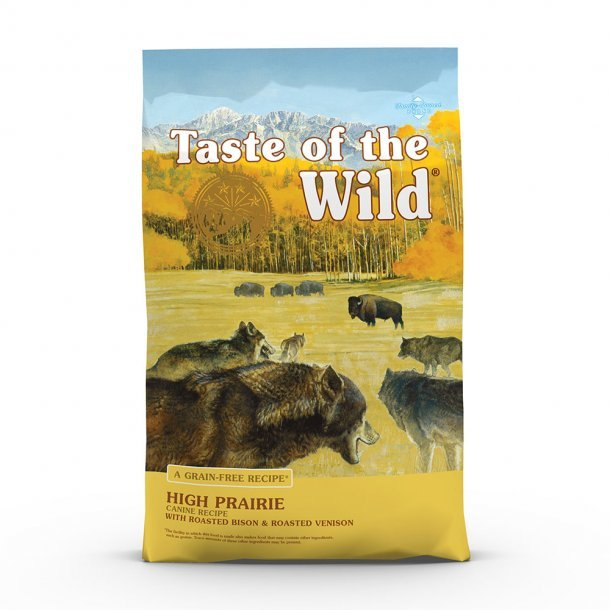Taste of the Wild High Prairie Dog Food-14 lb