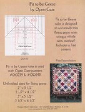 Fit to Be Geese Ruler - Mini