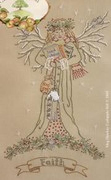 Gardeners Angel - Winter Pattern