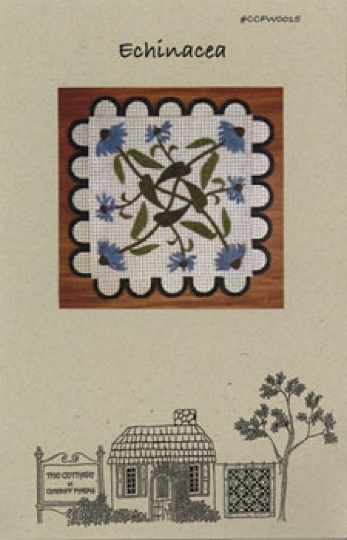 Echinacea Table Mat Pattern