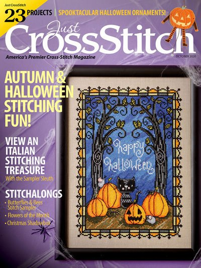 Just Cross Stitch - October  2020