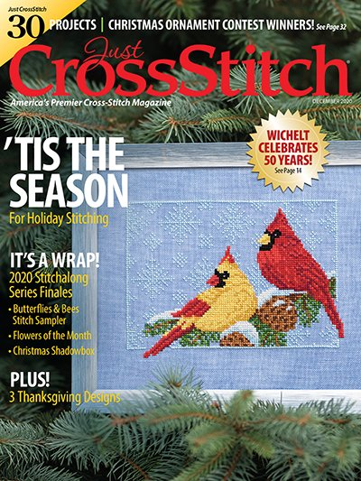 Just Cross Stitch - December  2020
