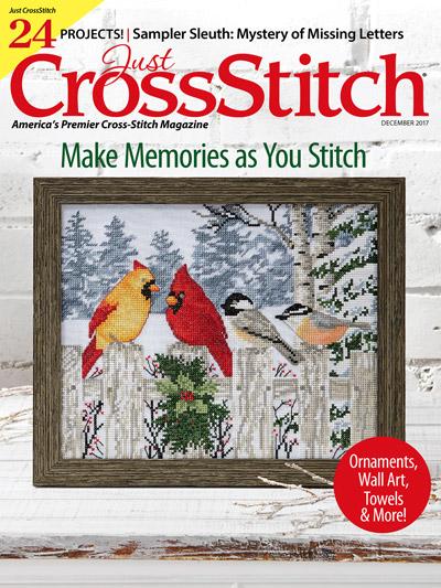 Just Cross Stitch - December 2017