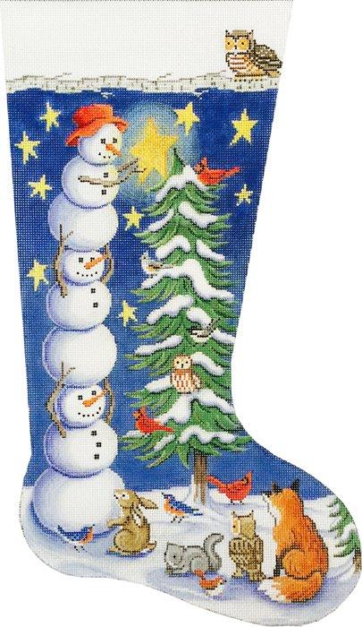 Tree Trimming Snowmen