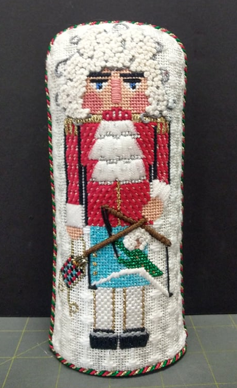 Lords A Leaping Nutcracker - Stitched by Barbara D.
