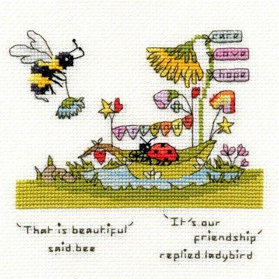 Beautiful Friendship: Ladybug & Bee