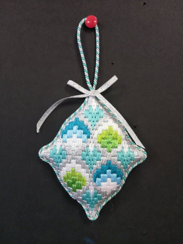 EC Bargello #11 - Stitched by Deby T.
