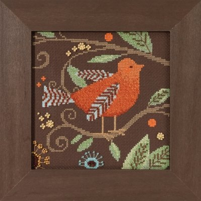 DM30-1813 Out On A Limb - Orange Bird
