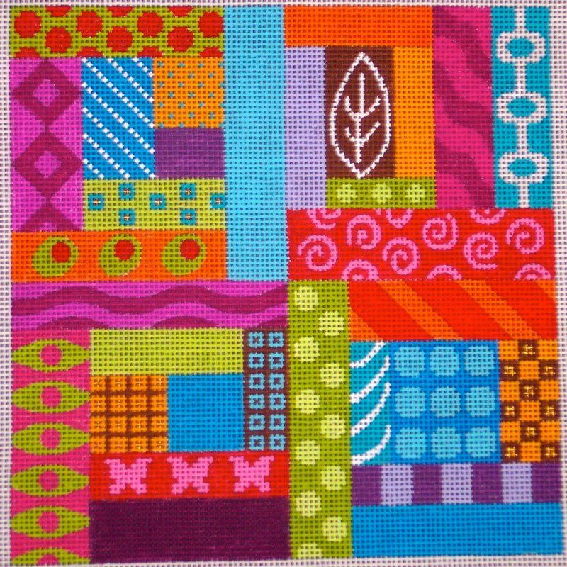 Pattern Puzzle   (design size 104x104 - 8x8 on 13ct)