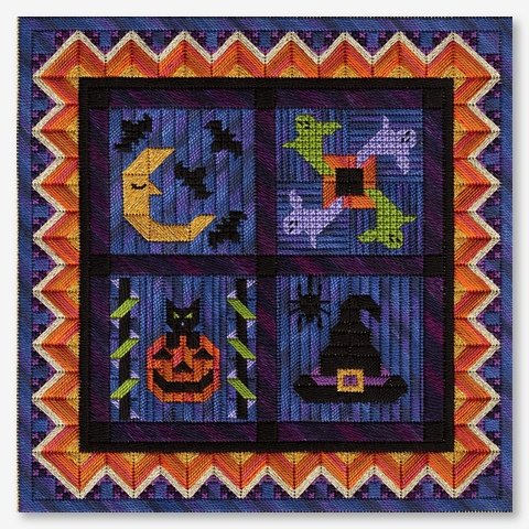 Spooky Halloween Barn Quilts (18ct.: 148x148 / 8.2x8.2)