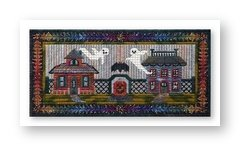 Two Haunted Houses (design size 72x144 - 4x8 on 18ct)