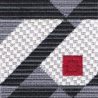 Black & White & Red Allover #1