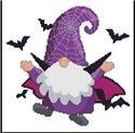 Halloween Bat Gnome