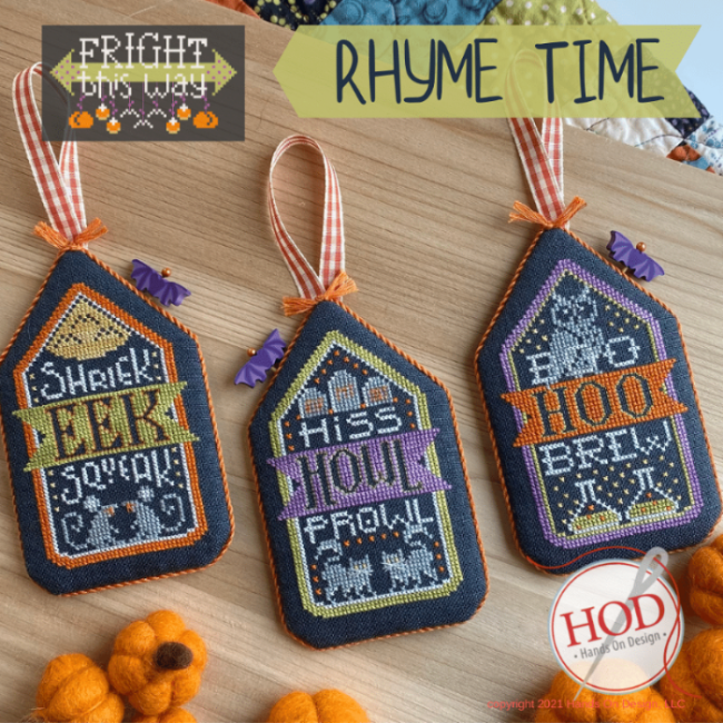 Fright This Way: Rhyme Time