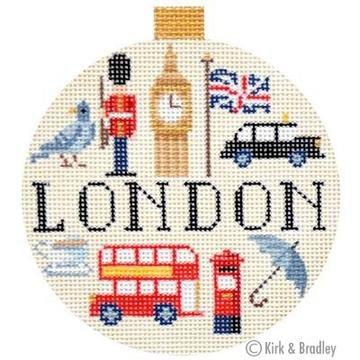 Travel Round - London - 18 mesh, 4 Round