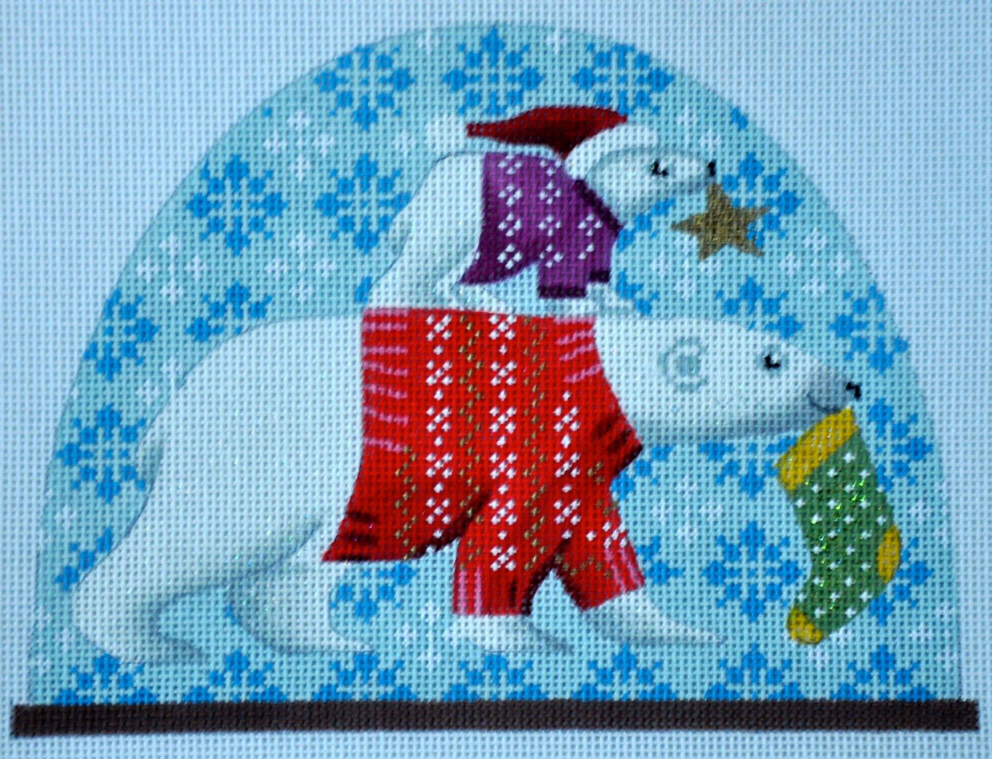 Polar Bears Snowdome