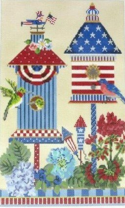 4th of July American House, 18CT, 7.125w x 11.25h