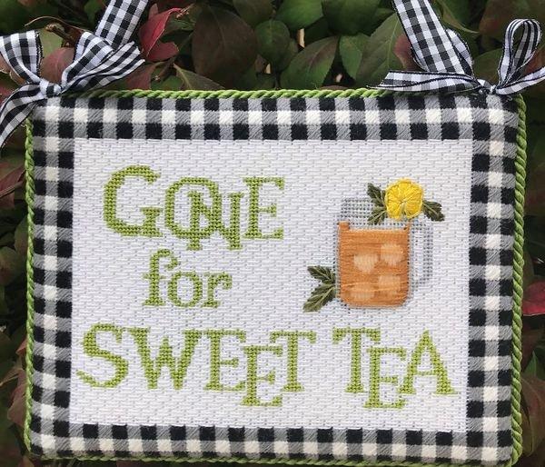 Gone for Sweet Tea w/ needle minder