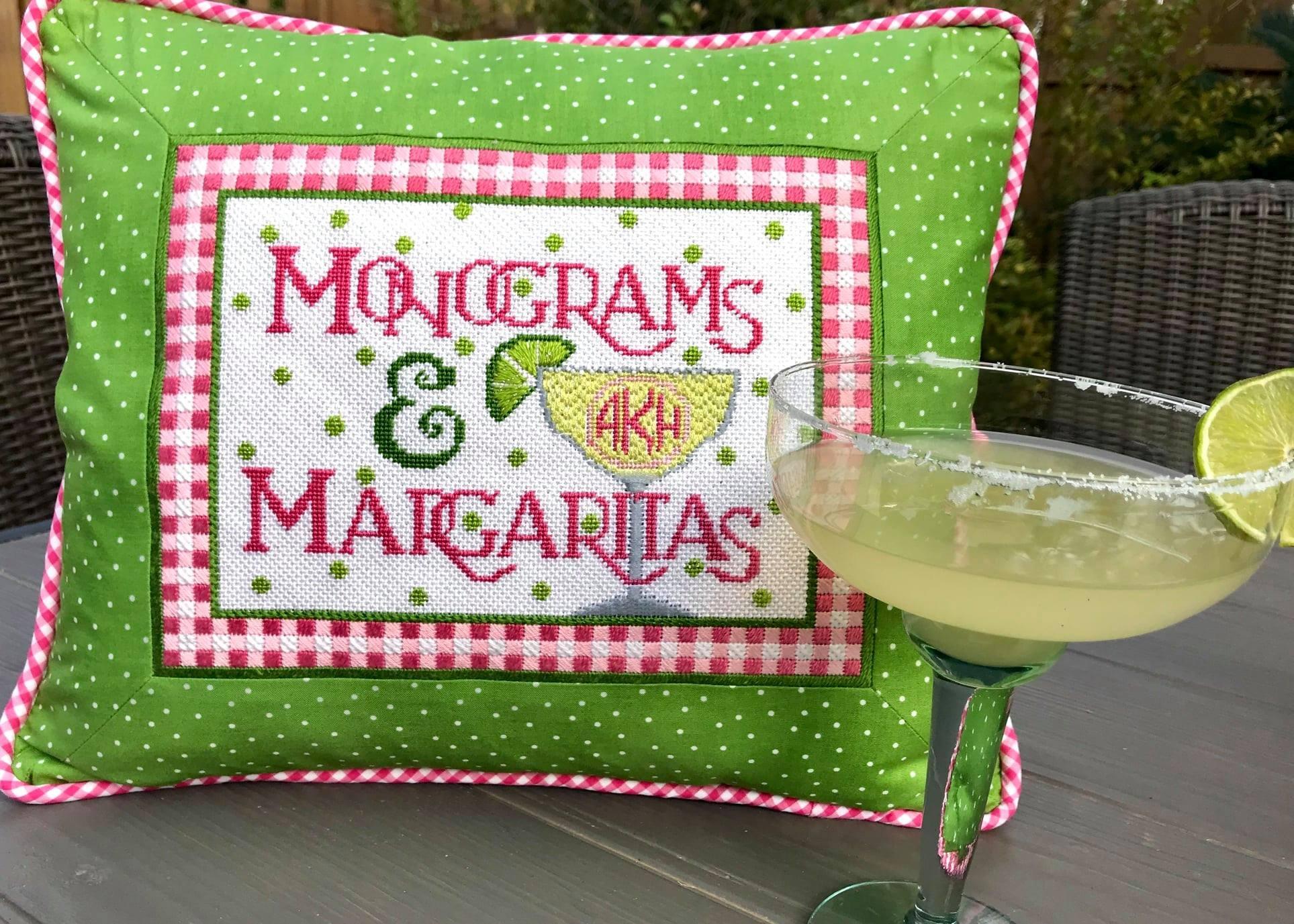 Monograms & Margaritas w/ needle minder