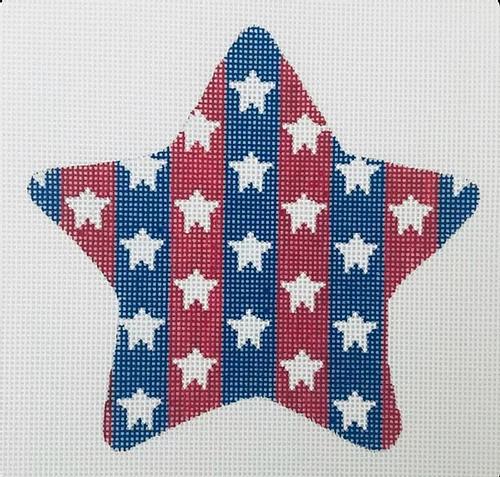 Patriotic Star - Stars & Stripes