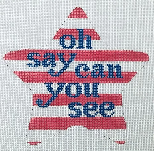 Patriotic Star - Oh Say Can You See