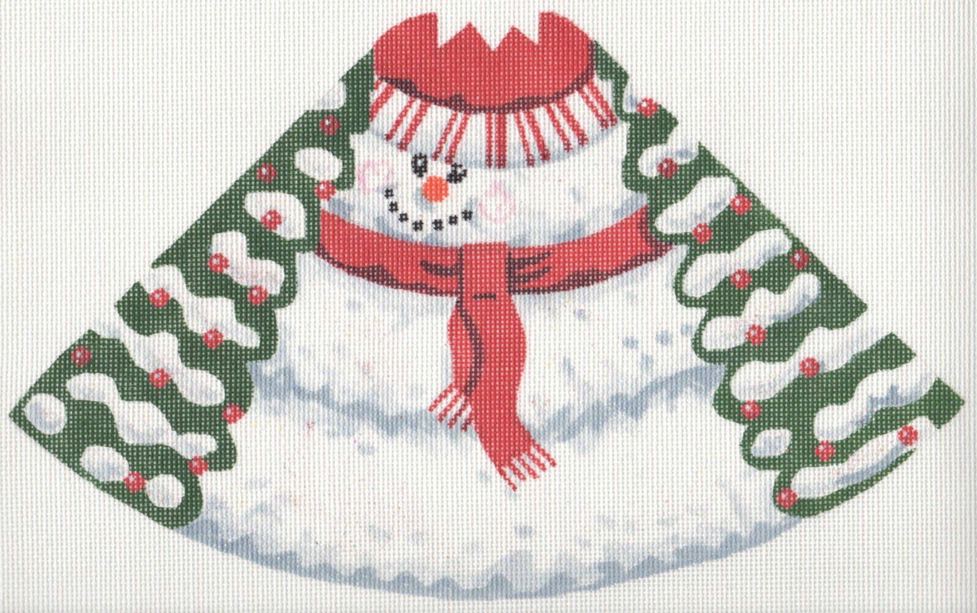 Cone Snowman