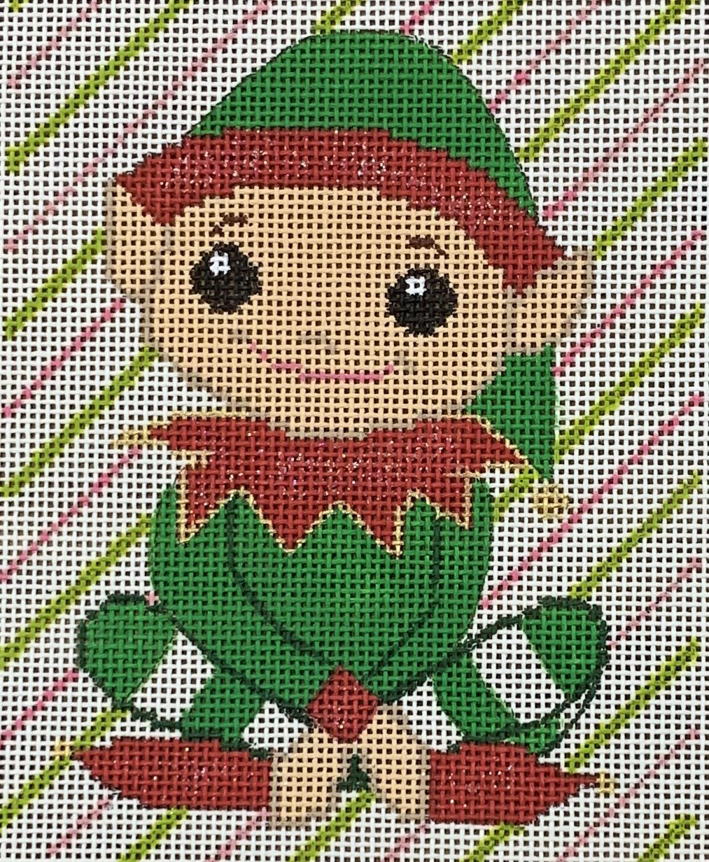 Sitting Elf