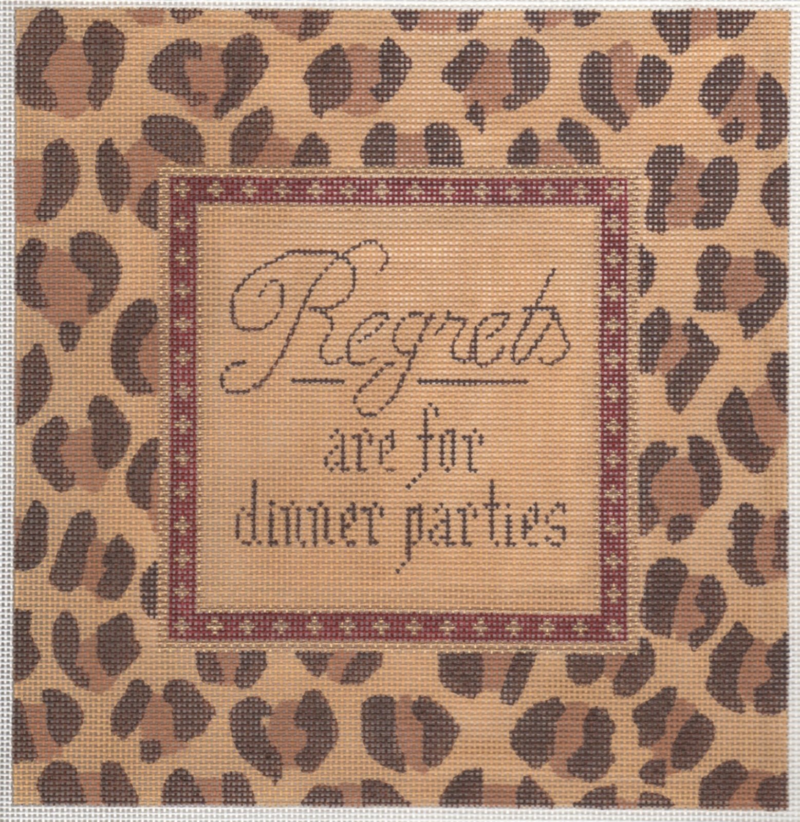 Regrets are for Dinner Parties