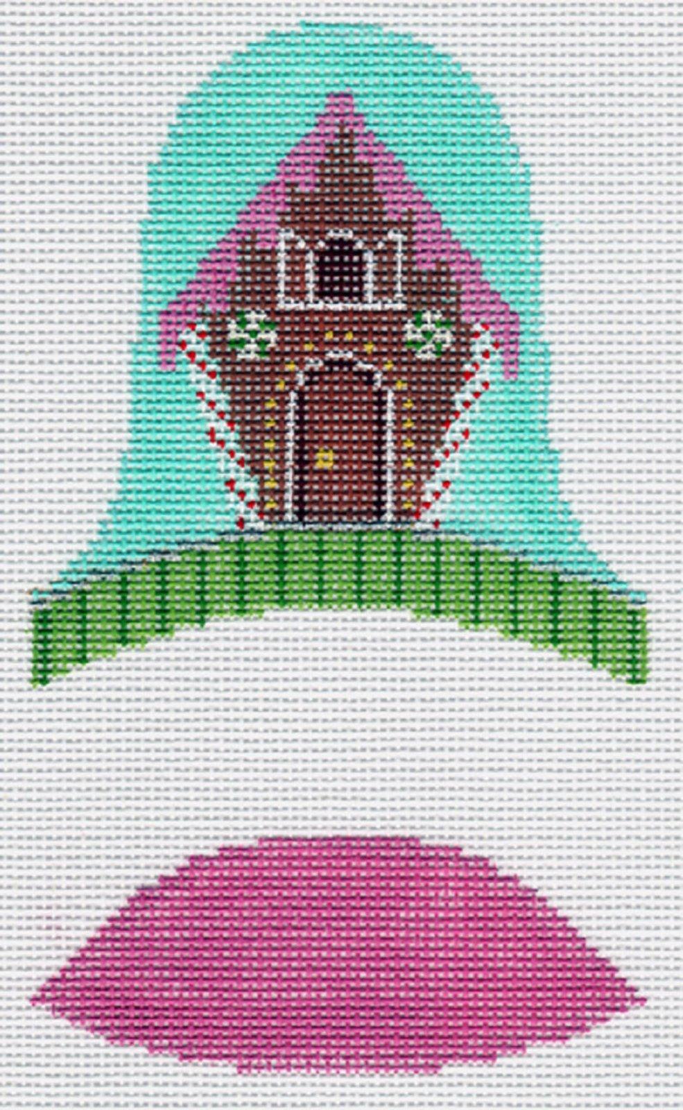 Dimensional Bells - Gingerbread House