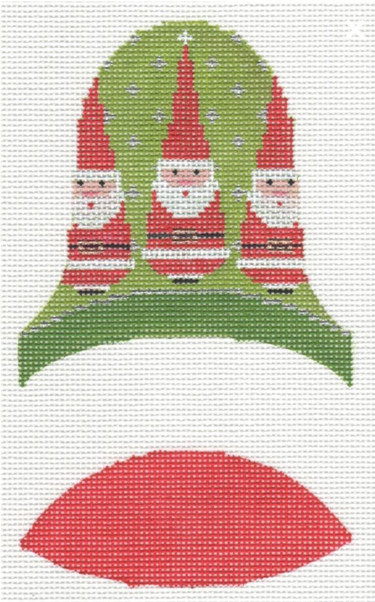 Dimensional Bells - 3 Santas
