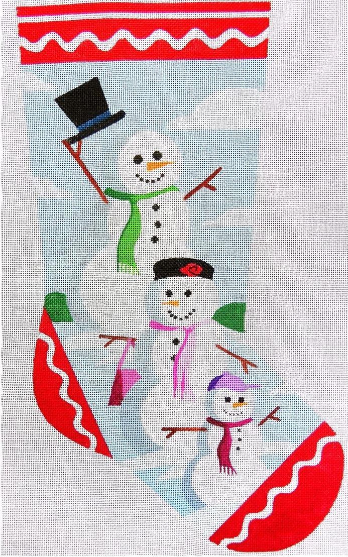 Snow Family Stocking
