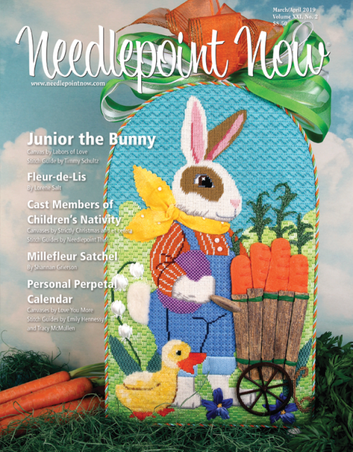 Needlepoint Now -  March / April 2019