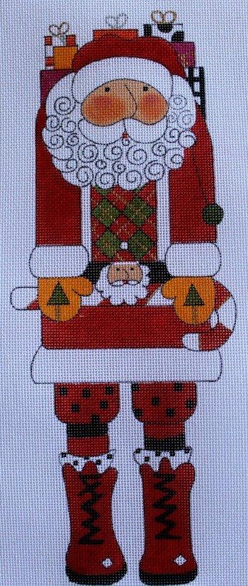 Mr. Santa Claus 18Ct w/ Stitch Guide