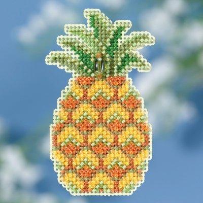 Mill Hill Seasonal Ornament Kit - Pineapple
