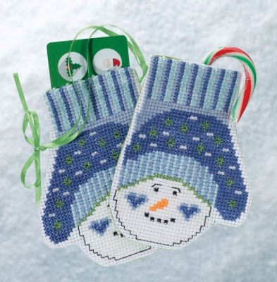 MH19-1831 Mittens Trilogy - Snowman Mittens