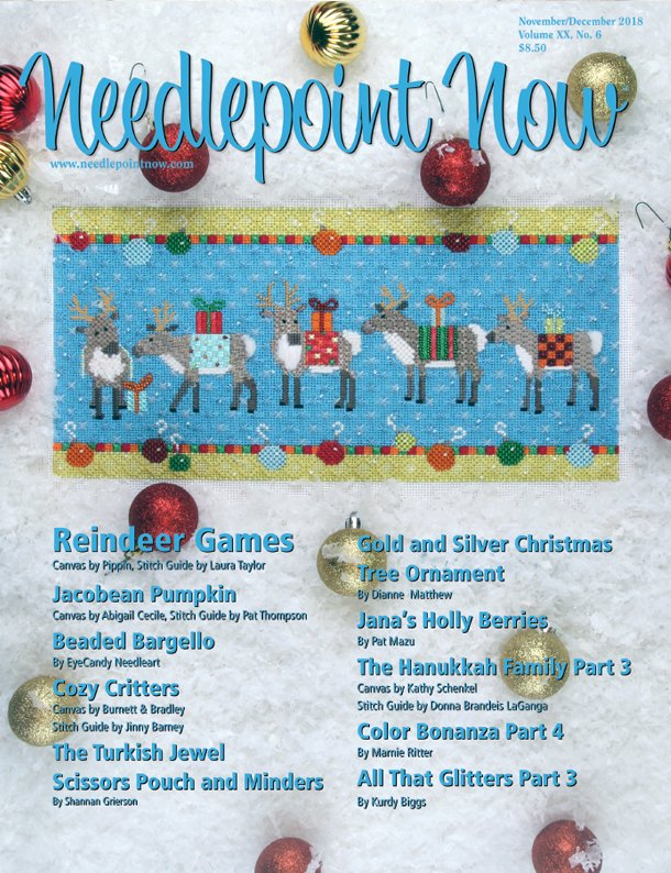 Needlepoint Now - November / December 2018