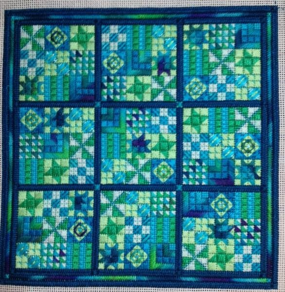 Sudoku Delight (design size 130x130 - 7.25x7.25 on 18ct)