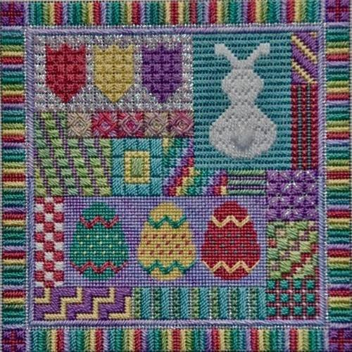 Holiday Delights: Easter (design size 108x108 - 6x6 on 18Ct)