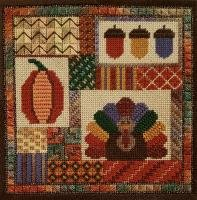 Holiday Delights - Thanksgiving  (design size 108x108 - 6x6 on 18Ct)