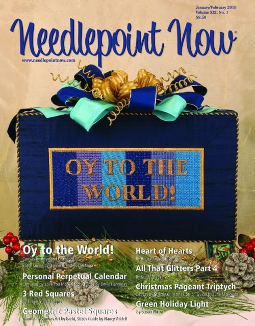 Needlepoint Now -  January / February 2019