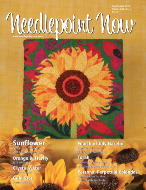 Needlepoint Now -  July/August 2019