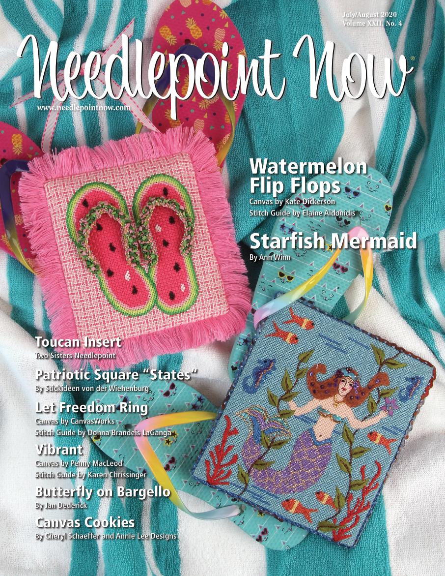Needlepoint Now -  July-Aug 2020
