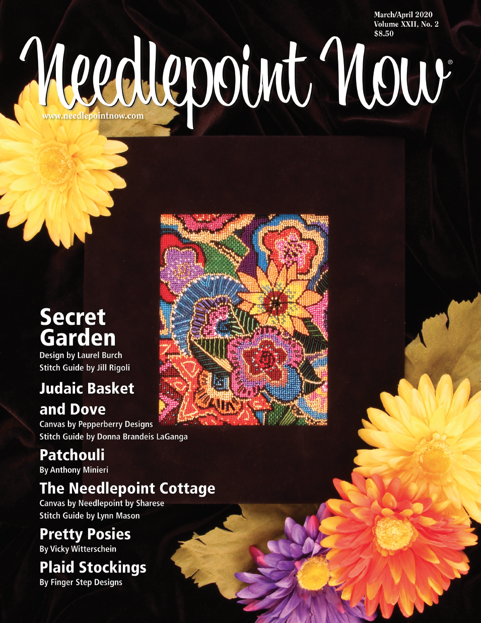 Needlepoint Now -  March / April 2020