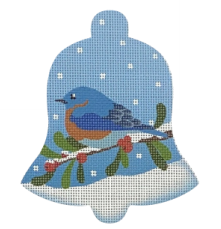 Blue Bird Snow Bell